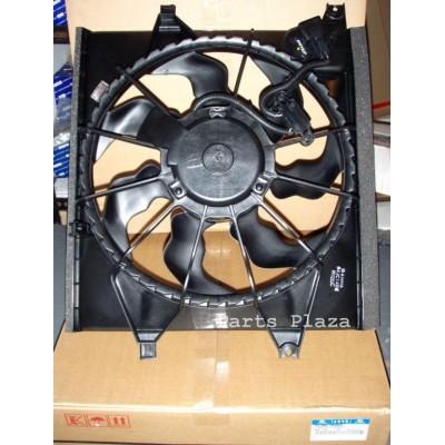 Вентилятор охлаждения в сборе с мотором Kia Soul