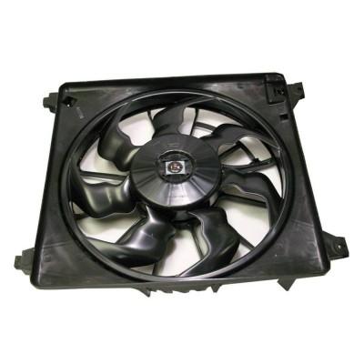 Вентилятор охлаждения в сборе с мотором Hyundai Grand Starex (H1) 07-