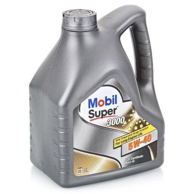 Масло моторное Mobil SUPER 3000 X1 5W-40 4л