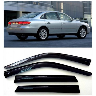 Дефлекторы для окон Hyundai Grandeur V 2011-2020.