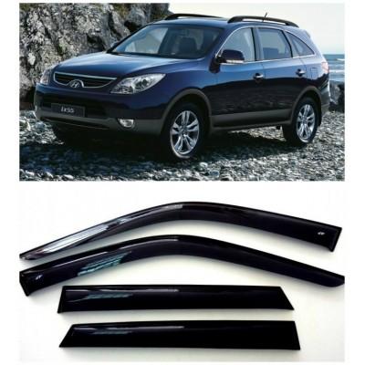 Дефлекторы для окон Hyundai ix55 2008-2013.